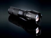 Militaire LED Zaklamp 3800 Lumen Zoomfunctie, felste zaklamp
