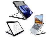 Laptop standaard, verstelbaar en inklapbaar, 17.3 inch